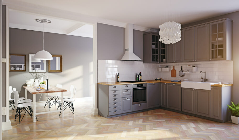 Should You Paint or Replace Your Kitchen Cabinets - Valley ...